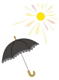 紫外線対策に効果が高い日傘の色は?