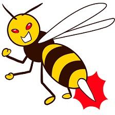 蜂に刺された場合の処置は?尿は効く?病院にいくべき?