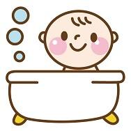インフルエンザにかかった時のお風呂は乳幼児はどうする?